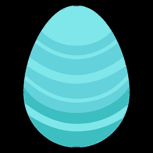 Huevo de pascua pintado huevo de pascua raya huevo de pascua patr?n plano