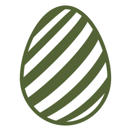 Egg easter painted easter egg stripe easter egg pattern silhouette