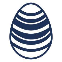 Egg easter stripe painted easter egg easter egg pattern silhouette