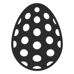 Huevo mancha pascua pintada huevo de pascua huevo de pascua patrón silueta