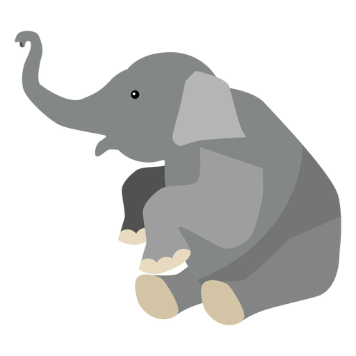 Elephant ear trunk flat