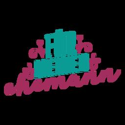 Texto alemão do meine ehemann da pele adesivo coração