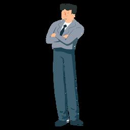Chaqueta hombre pantalón corbata plana