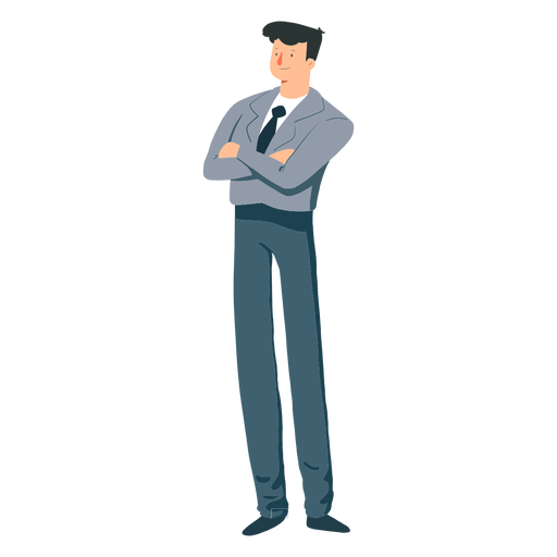 Chaqueta hombre corbata pantalon plano Transparent PNG