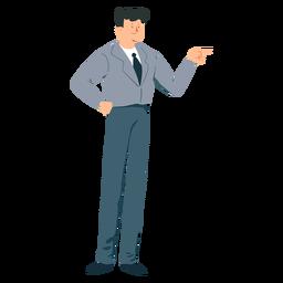 Pantalón hombre corbata plano