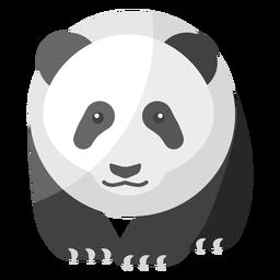 Panda fat spot muzzle flat