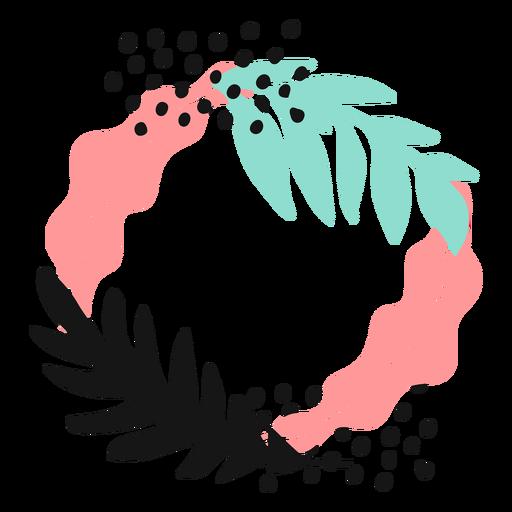 Pollenblattstiel flach Transparent PNG