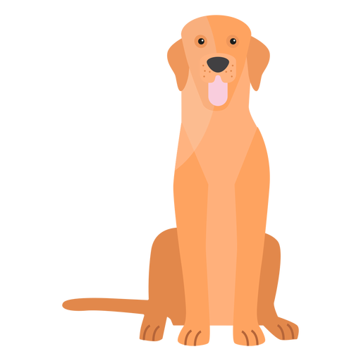 Puppy dog tail ear flat Transparent PNG