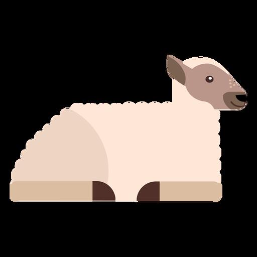 Sheep hoof lamb wool flat rounded geometric Transparent PNG