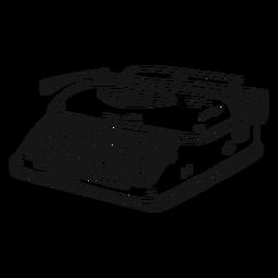 Schreibmaschinenknopf