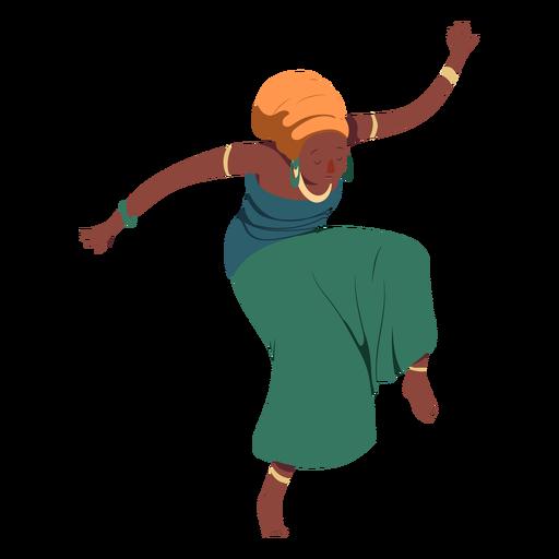 Postura mujer peinado top falda joyas plana Transparent PNG