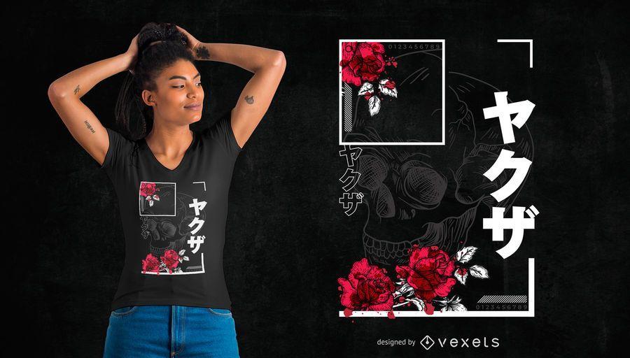 Japanese Urban T-Shirt Design