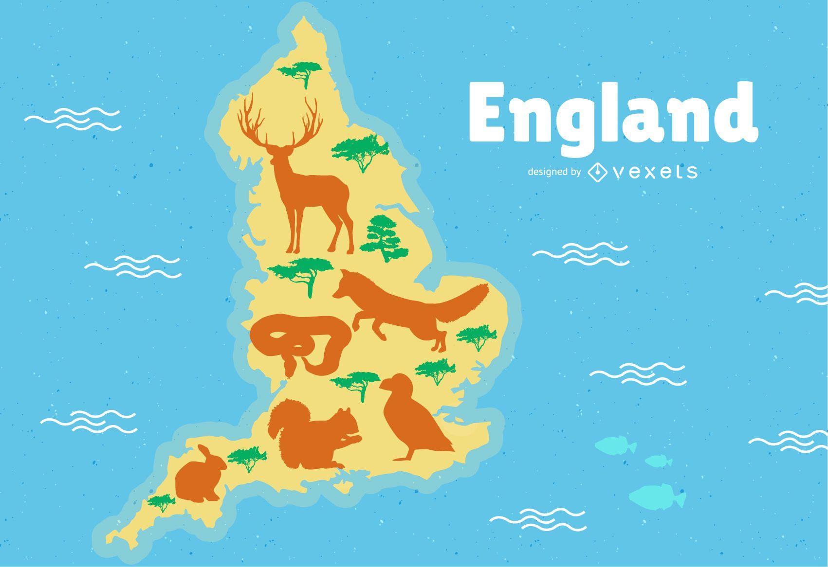 England Map Illustration - Vector download on australia illustration, london illustration, singapore illustration, tv illustration, chile illustration, italy illustration, thailand illustration, africa illustration, china illustration, dj illustration,