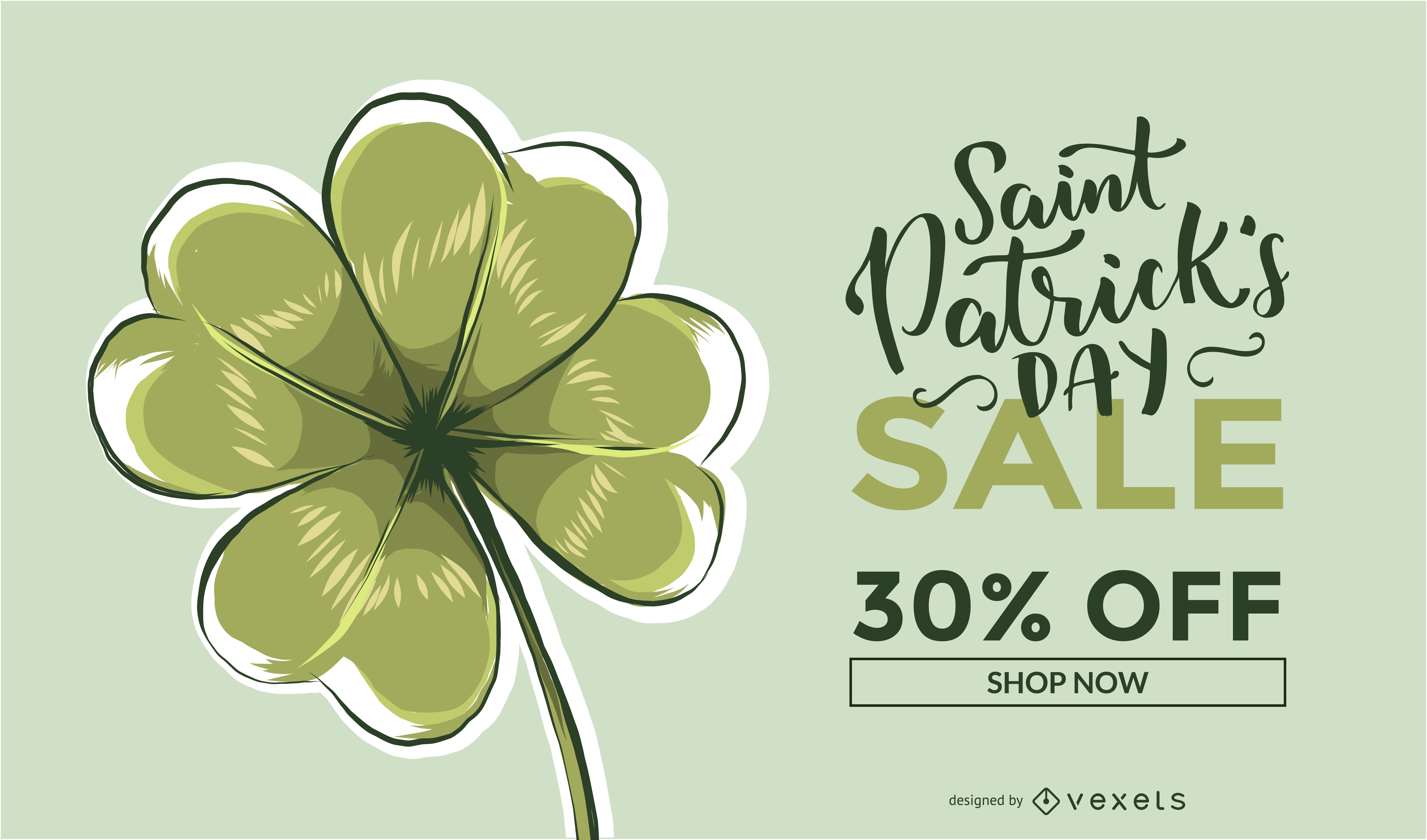 Saint Patrick's Sale Promo Design