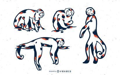 Conjunto de tonos mono duo