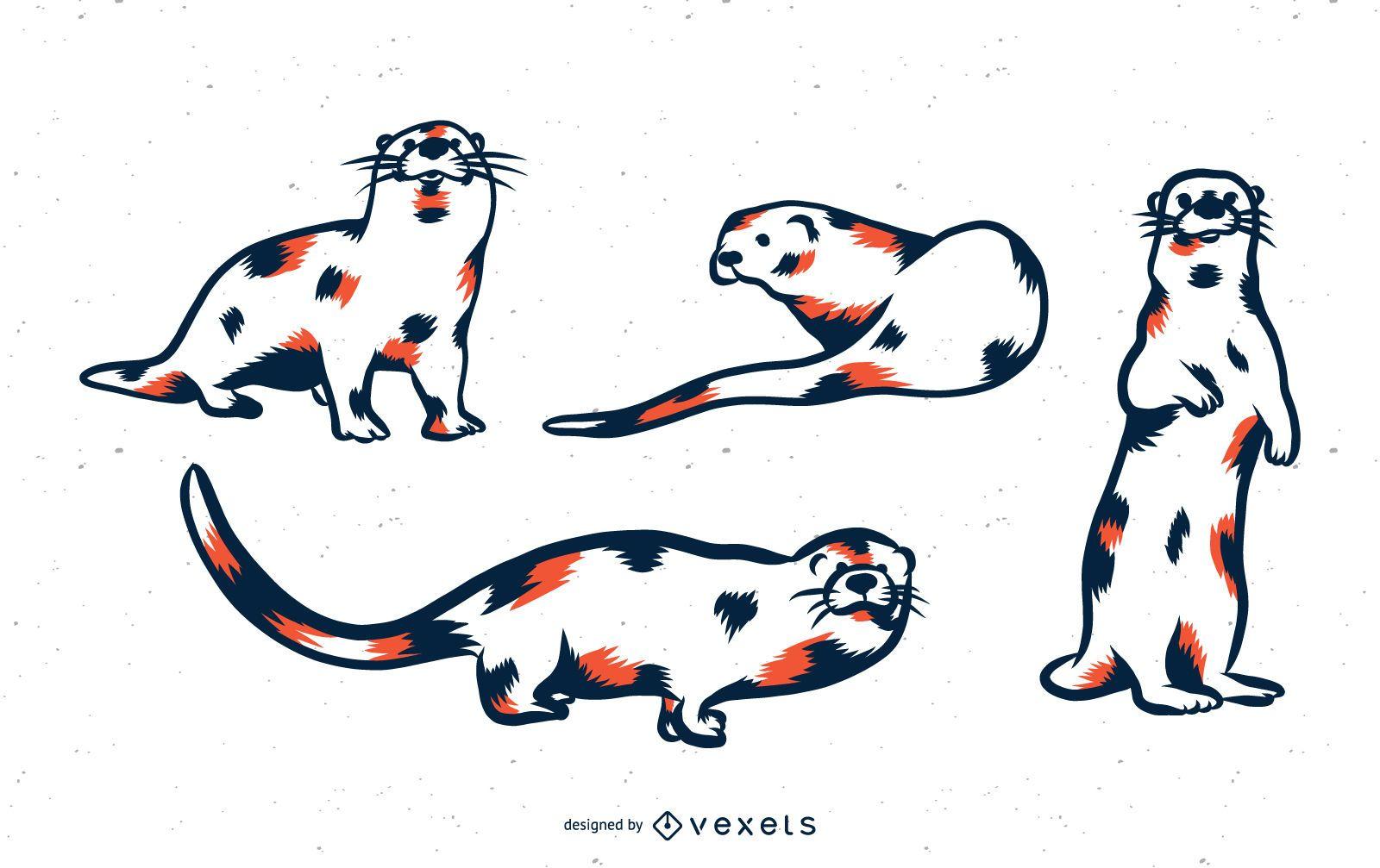 River Otter Duo Tone Set