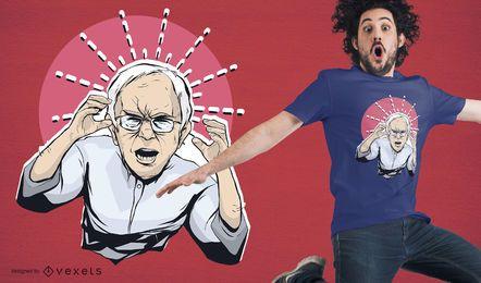Angry Bernie Sanders T-Shirt Design