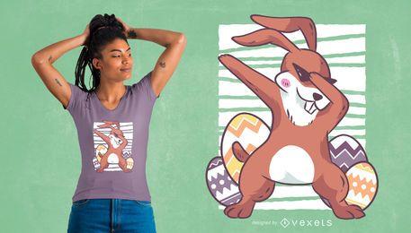 Dabbing Easter Bunny Design de t-shirt