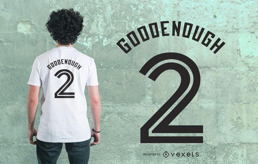 Baseball Jersey T-Shirt Design