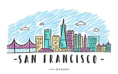 San Francisco Skyline Design