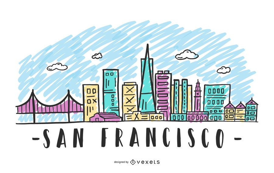 San Francisco Skyline Design