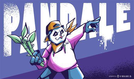 Ilustración pandale