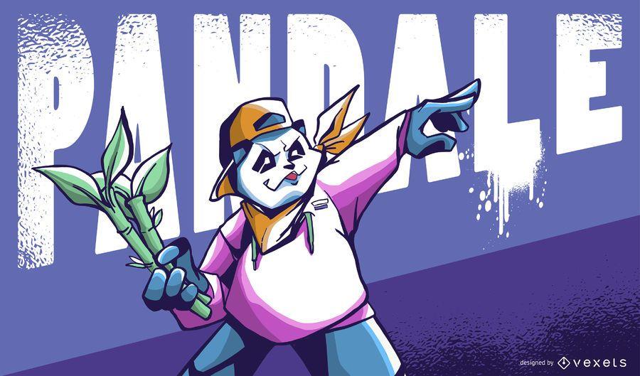 Pandale Illustration