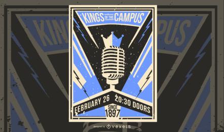Könige des Campus Poster