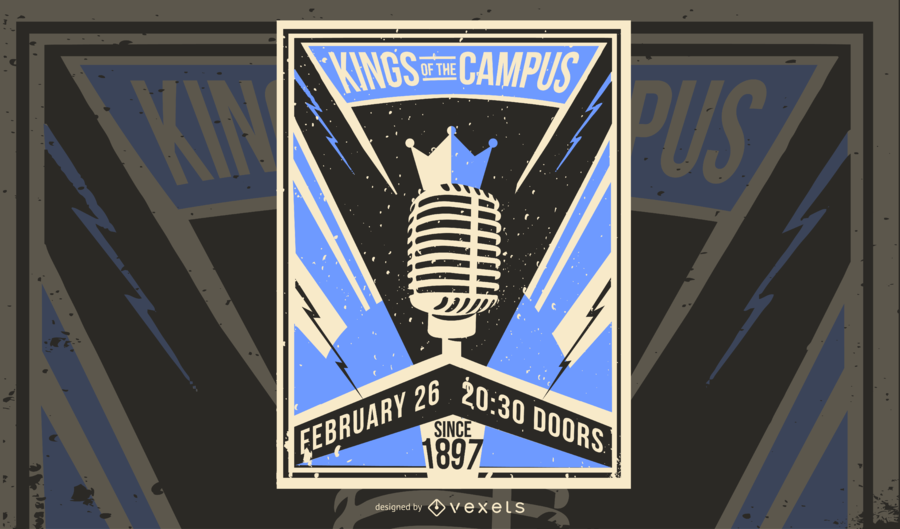 Kings of the Campus Poster