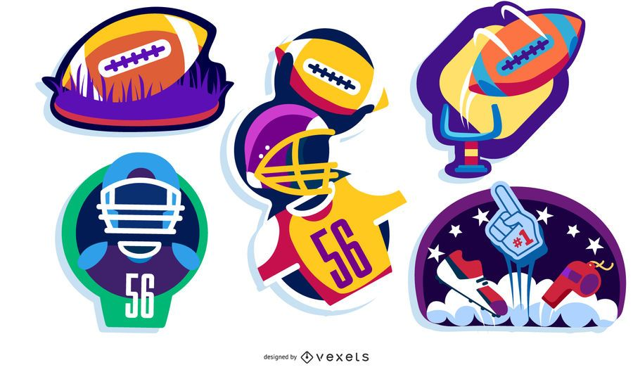 Football Sticker Set
