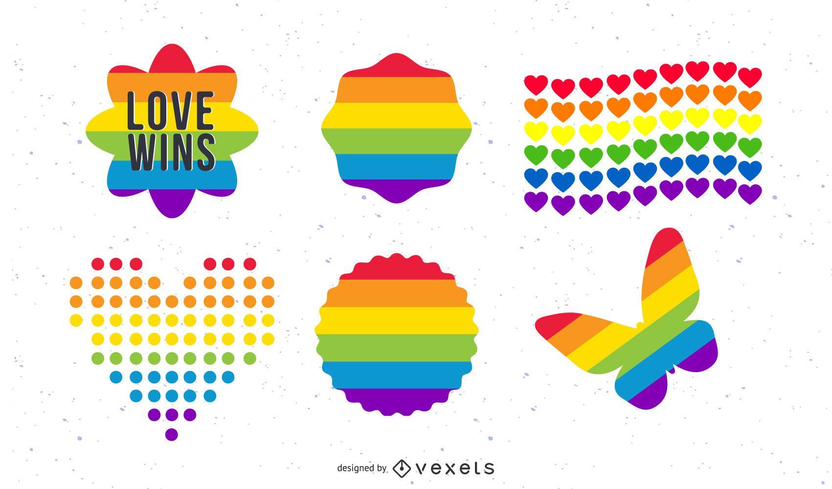 Pride Icon Set