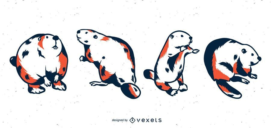 Beaver Duo Tone Set