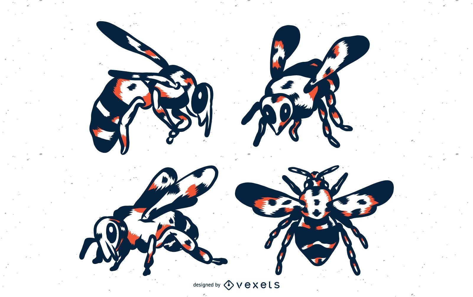 Bee Duo Tone Set