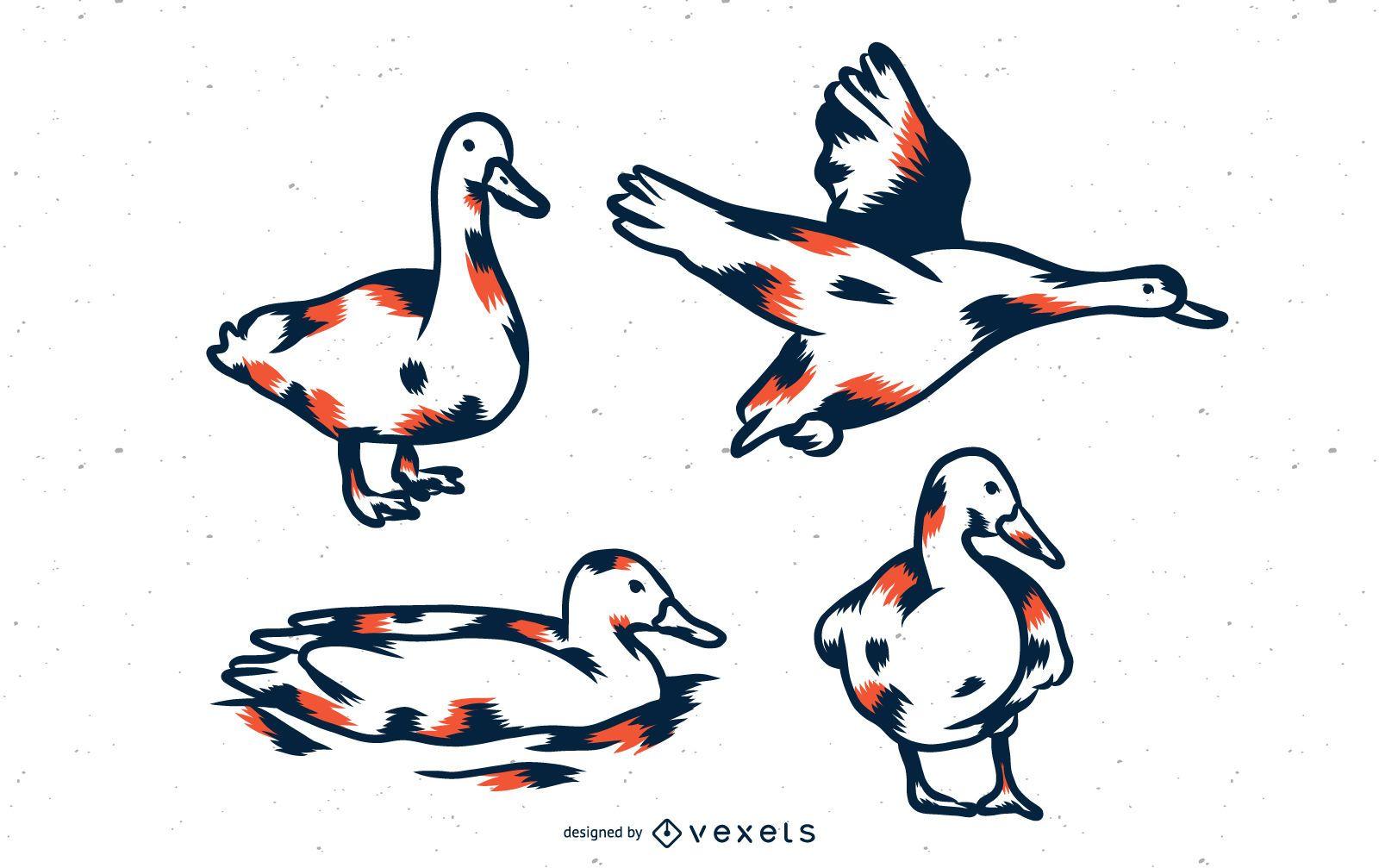 Duck Duo Tone Set