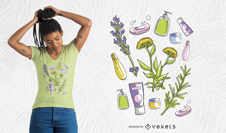 Beauty Elements T-Shirt Design