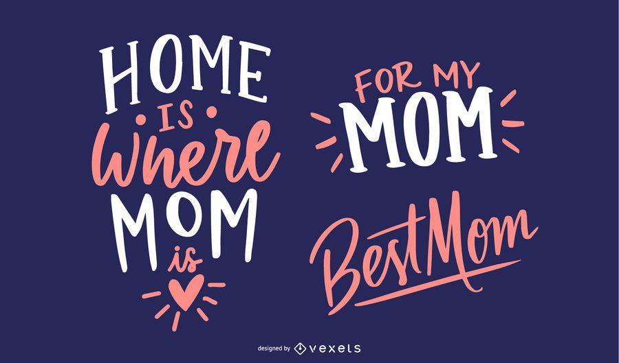 Diseño de saludo del día de la madre