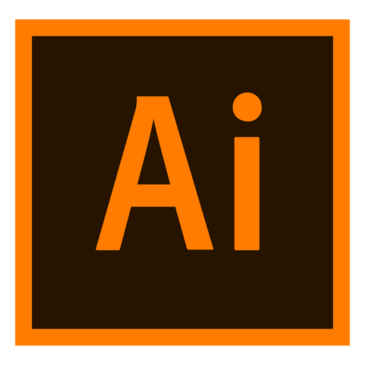 Adobe-Illustrator ai farbiges Symbol Transparent PNG