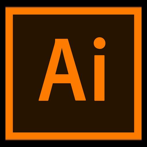Adobe ilustrador ai colorido ícone Transparent PNG