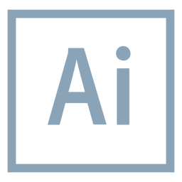 Ícone do Adobe illustrator ai