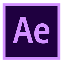 After Effects sind ein farbiges Symbol