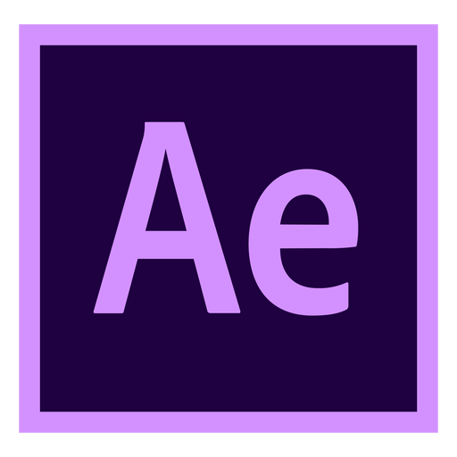 After effects ae colored icon Transparent PNG
