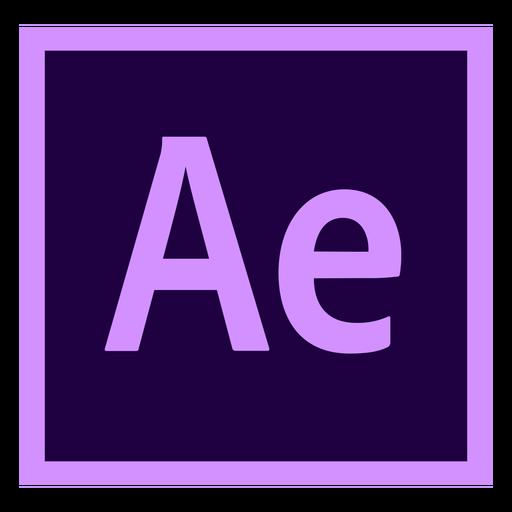 After Effects sind ein farbiges Symbol Transparent PNG