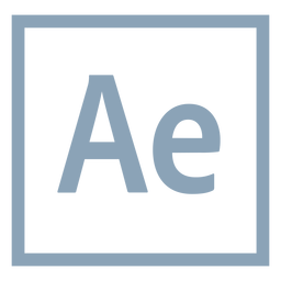 After Effects ae Symbol