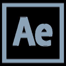 Después de los efectos ae icon
