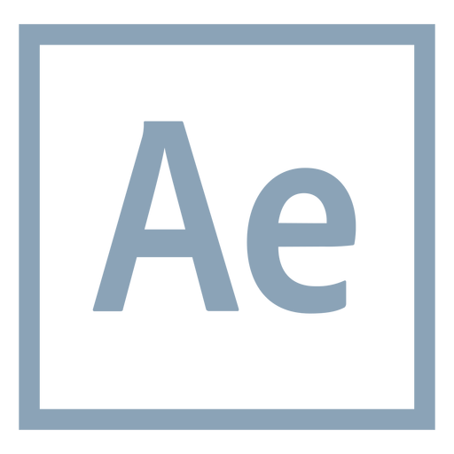 After effects ae icon Transparent PNG