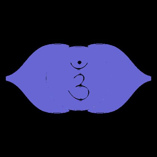 Ajna chakra icon Transparent PNG