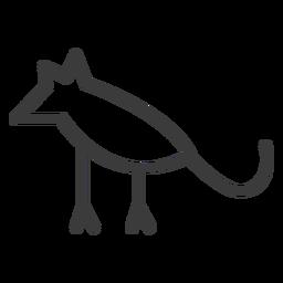 Perna de rato animal