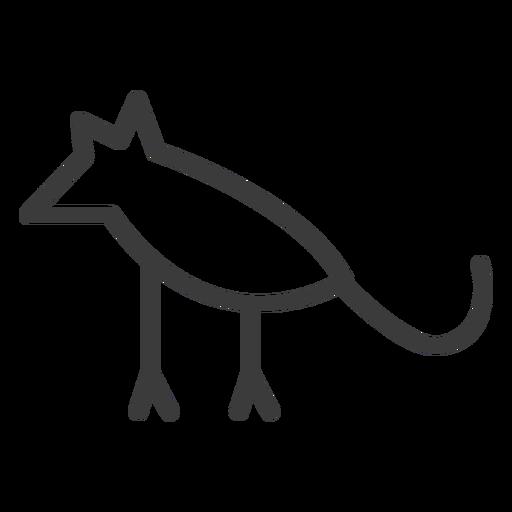 Animal mouse leg stroke Transparent PNG