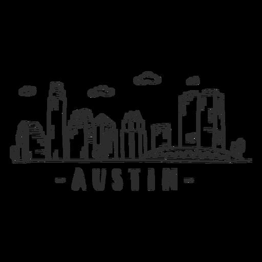 Austin puente catedral cúpula centro de negocios rascacielos centro comercial nube horizonte etiqueta Transparent PNG