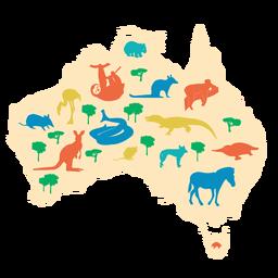 Ilustração de Austrália